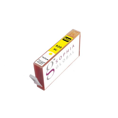 Sophia Global Compatible Ink Cartridge Replacement for HP 920XL (1 Yellow)