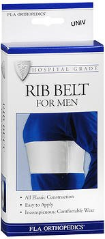 Fla Orthopedics Rib Belt for Men Universal - 1 ea, Pack of 3