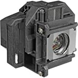 QueenYii ELPLP53 Compatible for EPSON H315C Replacement Projector Lamp with bulb inside
