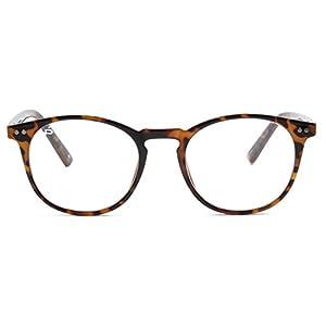 "PRIVÉ REVAUX ""The Maestro"" [Limited Edition] Handcrafted Designer Eyeglasses With Anti Blue-Light Blocking Lenses For Men & Women (Tortoise)"