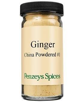 China Powdered #1 Ginger By Penzeys Spices 1.9 oz 1/2 cup jar