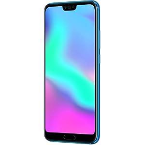Huawei Honor 10 Dual-SIM 128GB (GSM Only, No CDMA) Factory Unlocked 4G Smartphone (Phantom Blue) – International Version