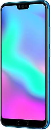 """Honor 10 Smartphone, 4G LTE, Display 5.8"""" FHD+, 64 GB di Memoria, Kirin 970 Octa-Core, 4 GB RAM, Doppia Fotocamera, Blu"""