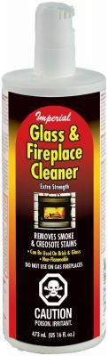 Stain Masonry Remove (Imperial KK0047 Clear Flame 2 In 1 Glass and Masonry Cleaner, 16 Ounce)
