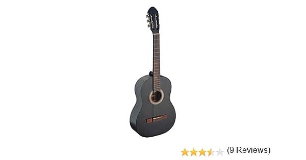 Stagg C440 – Guitarra clásica, color negro: Amazon.es ...