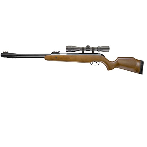 Umarex Browning 2252291 Pellet 820fps Air Rifle with Lever Action & Scope, 0.22 Caliber, Brown