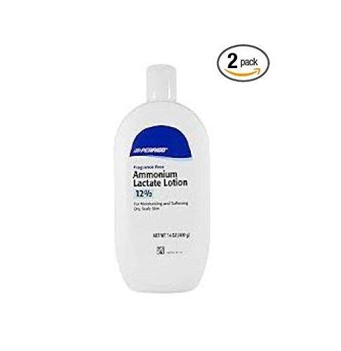 Ammonium Lactate Lotion 12% Fliptop - (400grams/14oz) - Two Bottles Clay