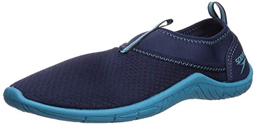 Speedo Women's Tidal Cruiser Watershoe Water Shoe, Navy/Blue, 9 Regular US