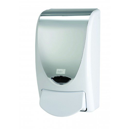 Deb BN127 Chrome Dispenser, 1 L