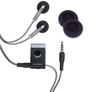 OEM Nokia HS-45 Music Stereo Headset and AD-57 XpressMusic On/Off Audio Controller for E90 E51 5700 6110 5310 N76 N78 N81 N82 N95 N95(8GB) N96 (5310 Nokia Telephone)