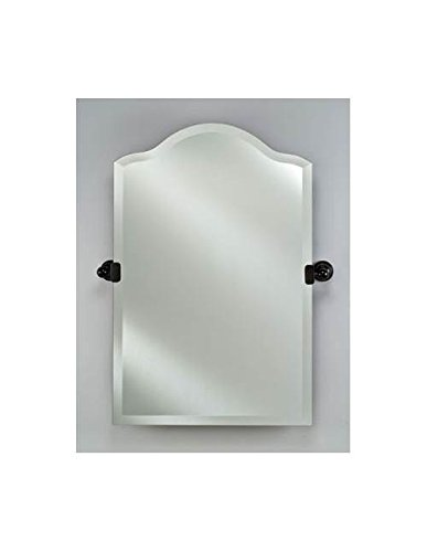 Radiance Scallop Top Wall Mirror (Polished Chrome) (Afina Scallop Top)