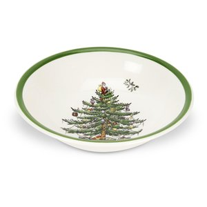 Christmas Tree Soup (Spode Christmas Tree Cereal/Dessert Bowl 15 cm)