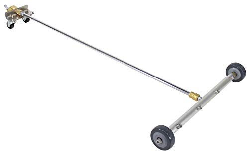 Erie Tools UC65LW Portable 4 Spray Tip Water Broom Swivel Fittings Wheels by Erie Tools
