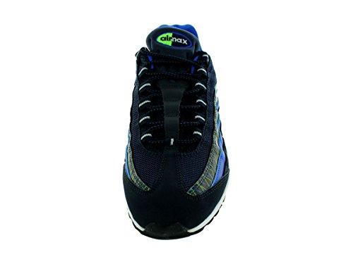 Heren Nike Air Max 95 Prm Hardloopschoen Dark Obsidian / Hyper Kobalt