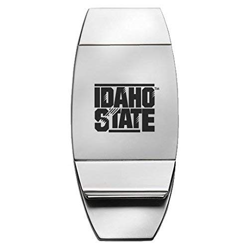 Silver Idaho State University Two-Toned Money Clip