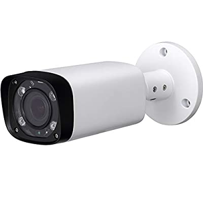 4MP POE Outdoor IP Bullet Security Camera,IPC-HFW4431R-Z 2.7mm-12mm Motorized Varifocal Lens,80m IR LEDs Night Vision Length,H:92°~28° Angle of View, IP67,DC12V,PoE(802.3af) Power Supply?Surveillance by Dahua