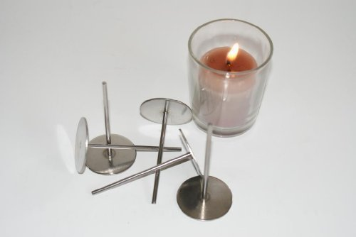 4 votive wick pins. For easy wicking of votive candles
