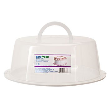 SURE FRESH CONTAINERS (1, Cake Container & Lid) by
