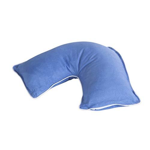 The Pillow Bar Jetsetter Mini Travel Neck Pillow (Blue)