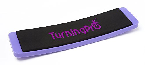 Turning Board - Pastel Purple Ballet Board for Dance, Pirouttes, Practice, Balance Training, Gymnastics, Skating and Fun - Velvet bag included by TurningPro