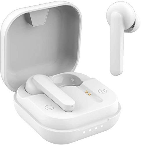 Wireless Earphones Built-in Mic Earbuds with Charging Case, in-Ear Headphones Waterproof for Sports/Work, Headsets for…