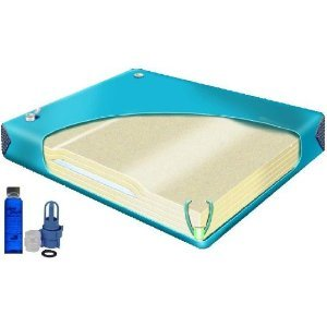 Amazon Com Total Waveless King Size Waterbed Mattress With Free