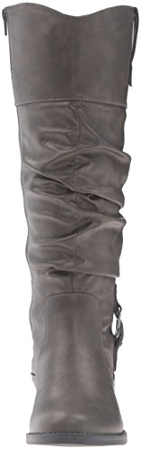 Grey Easy Boot Street Vim Women's Slouch wOIXrOq