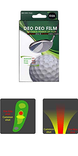 Deo Deo Golf attaching Film/Club Coating for Anti Slice/Anti Hook/Protecting Clubs and Getting Distance (4)