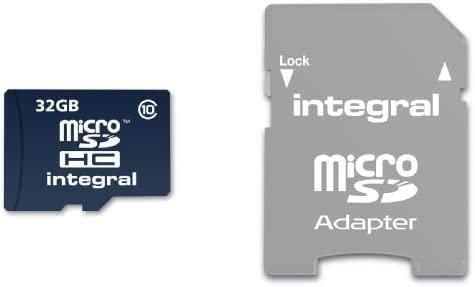Integral INTF1032GB - Tarjeta de Memoria Micro SDHC de 32 GB (Clase 10)