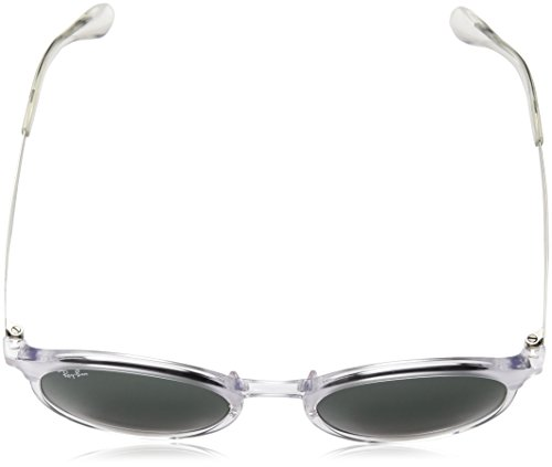 Ray-Ban Injected Unisex Round Sunglasses, Transparent, 51 mm by Ray-Ban (Image #4)