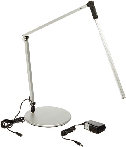 Price comparison product image Koncept AR3100-WD-SIL-DSK Z-Bar Mini LED Desk Lamp,  Warm Light,  Silver