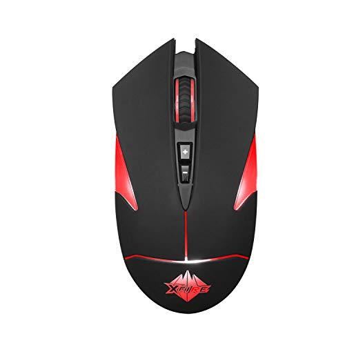 Mouse Gamer Hunter 5 Botões 4000 Dpi