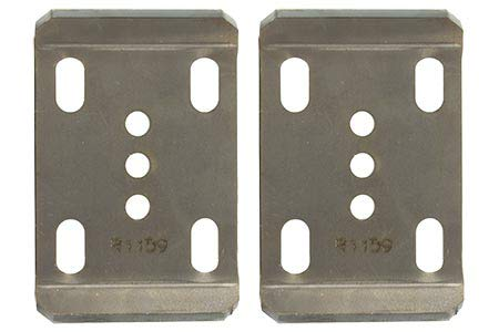 Ruffstuff Jeep 2.5'' Spring U Bolt Plates (Without Shock tabs)