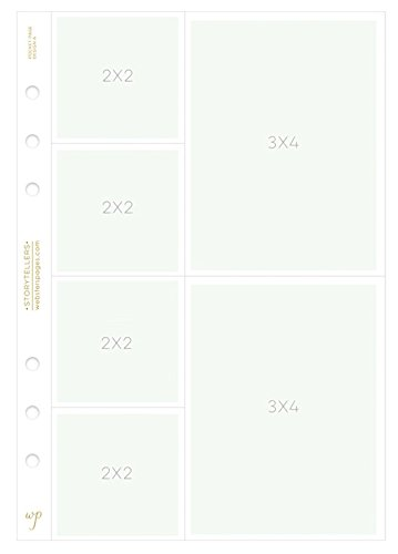 Webster's Pages A5 Photo Sleeves Design A 8-pk (P1022)
