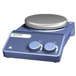 "Scilogex 81112104 Ms-h-s Analog Magnetic Hot Plate Stirrer, Stainless Steel Plate, 110v60hz, 11"" Length, 5-27"" Diameter"