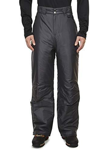 - Swiss Alps Mens Insulated Ski and Snow Pants (Dark Grey (8054), Medium)