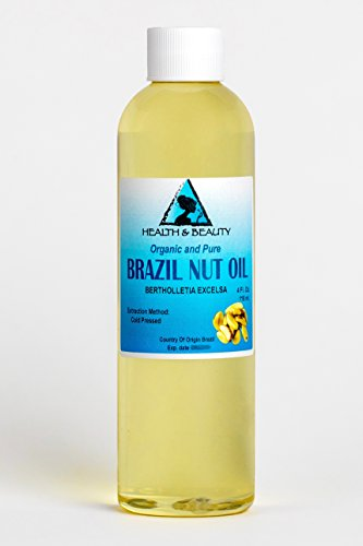 Brazil Nut Oil Organic Carrier Cold Pressed Natural Fresh 100% Pure 4 - Brazil Usps
