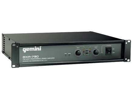 Gemini GXA750 DJ Power Amplifier 275W Per Channel by Gemini