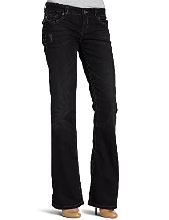 MEK Denim Women's Oaxaca Bootcut Jean, Black at Amazon ...