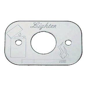 Peterbilt Chrome Lighter Body Holder w/Engraving Roadmaster