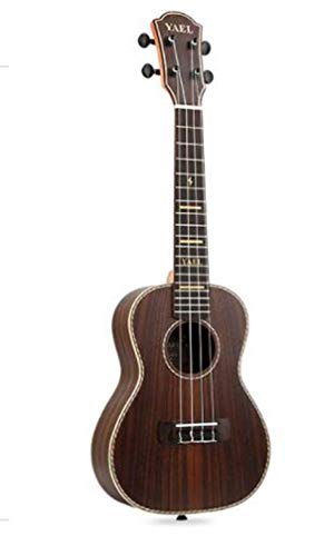 CE-LXYYD 23-inch Ukulele, Full Rosewood Fashion Ukulele, Beginners Students plucked Instruments for Men and Women, Suitable for Party - Rosewood Box Tile