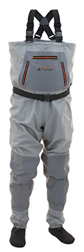 (Frogg Toggs Hellbender Breathable Stockingfoot Chest Wader, Slate Gray, Size X-Large)