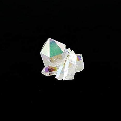 Mineral Import Drusa de Cuarzo Aqua Aura Mediana (5-10gr)