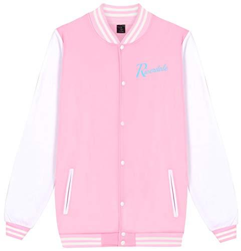 SERAPHY Unisex Riverdale Pullover Southside Serpent Jacket Pink XXS