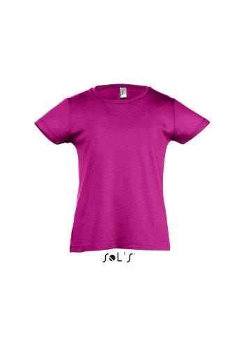 Sol 's Kids–Camiseta Girlie–Cherry fucsia