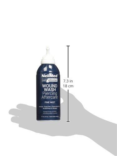 Amazoncom Neilmed Neilcleanse Piercing Aftercare Fine Mist 6