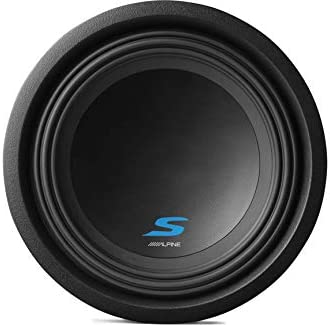 Compatible with 2015 UP Ford F150 Super Crew Alpine Type S S-W10D2 Dual 10 Custom Sub Box with S-A60M Amplifier /& 4GA Amp Kit