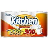 Papel Toalha Folha Dupla Kitchen Jumbo 540 Folhas