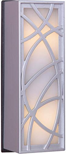 Craftmade TB1060-BN Whimsical Lines Lighted Doorbell LED Touch Button, Brushed Nickel (4.13