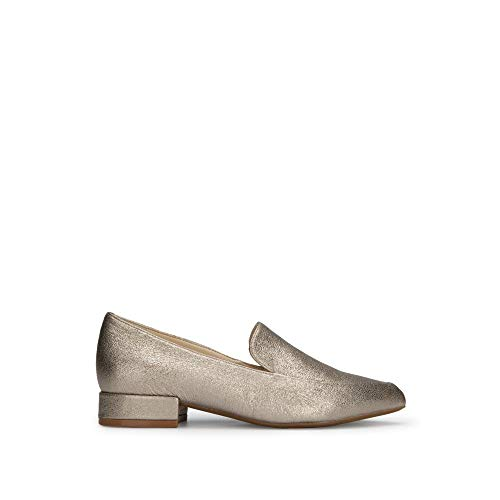 (Kenneth Cole New York Camelia Leather Metallic Loafer)